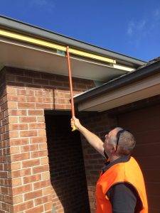 Checking Gutter Fall PP 225x300 - Checking Gutter Fall -PP