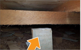 Defect Example PP Image 2 - Pre-Purchase House Inspections – Be Informed Before You Buy