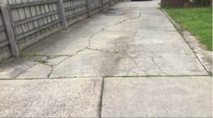 Defects Driveways Image 1 300x166 - Defect Examples