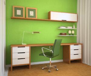 Desk in Green Room 300x250 - Desk in Green Room