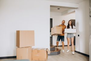 Featured Image 300x200 - Young family moving into their new house