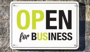 Open for Business 300x173 - Open for Business