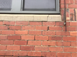 Stepped Cracking in Wall 300x225 - Cracking - Is it Serious?